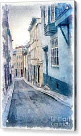 The Streets Of Old Quebec City Acrylic Print