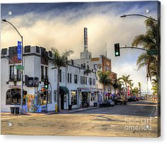 The Streets Of Pismo Beach Acrylic Print
