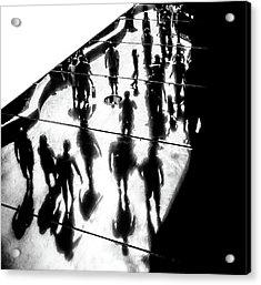 The Strip Acrylic Print by Pawel Majewski