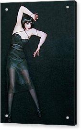 The Struggle To Be Free - Self Portrait Acrylic Print by Jaeda DeWalt