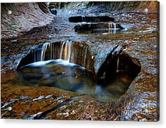 The Subway Pools Of Wonder Acrylic Print by Bob Christopher
