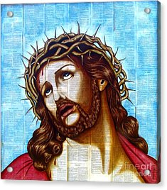 The Suffering Christ Acrylic Print by Joseph Sonday