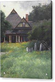 The Sullivan House Acrylic Print by Anna Rose Bain