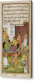 The Sultan Of Baghdad Acrylic Print by British Library