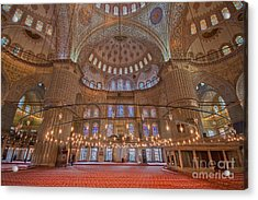 The Sultanahmet Mosque Istanbul Acrylic Print
