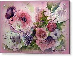 The Summer Garden Acrylic Print by John Smeulders