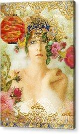 The Summer Queen Acrylic Print by Aimee Stewart