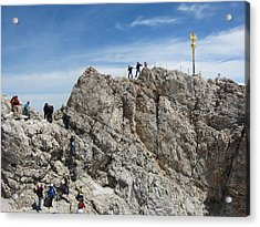 Acrylic Print featuring the photograph The  Summit - 1 by Pema Hou