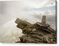 The Summit Of Ben Lawers Acrylic Print