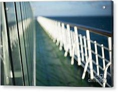 The Sun Deck Acrylic Print by Anne Gilbert