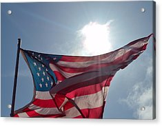 The Sun Of America 2 Acrylic Print by Sheldon Blackwell