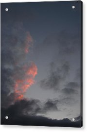 The Sun Says Goodnight For Now Acrylic Print by Guy Ricketts