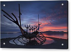 The Sun Voyager ... Acrylic Print by Iurie Belegurschi