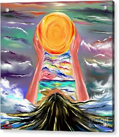 The Sun Will Shine Again Acrylic Print by Lori  Lovetere