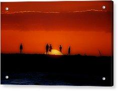 The Sun Worshipers Acrylic Print