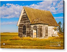 The Sunbeam Church Acrylic Print
