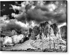 The Superstitions  Acrylic Print by Saija  Lehtonen