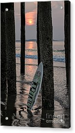 The Surf Awaits Acrylic Print