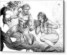 The Survivor Acrylic Print by Manuel Cadag