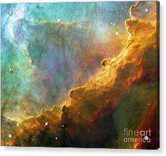 The Swan Nebula Acrylic Print by Rod Jones