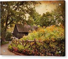 The Swedish Cottage Acrylic Print