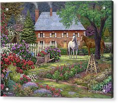 The Sweet Garden Acrylic Print