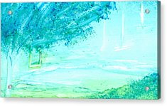The Swing Acrylic Print