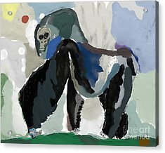 The Symbolic Image Of A Monkey, Which Acrylic Print