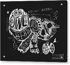 The Symbolic Image Of The Owl, Which Acrylic Print