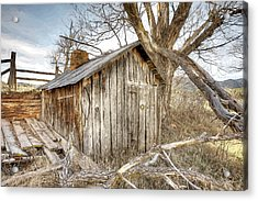 The Tack Shed Acrylic Print