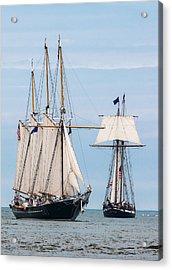 The Tall Ships Acrylic Print by Dale Kincaid