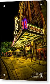 The Tampa Theater Acrylic Print by Marvin Spates