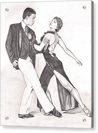 The Tango Acrylic Print by Beverly Marshall