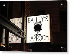 The Taproom Acrylic Print by Kyle Harrigan