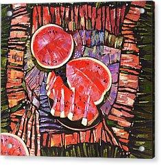 The Taste Of Summer. Acrylic Print by Anastasija Kraineva