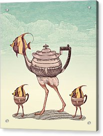 The Teapostrish Family Acrylic Print by Pepetto Gallery