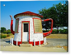 The Teapot Dome  Acrylic Print by Jeff Swan