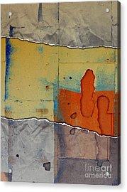 The Tear Acrylic Print by Marcia Lee Jones