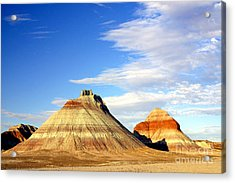 The Teepees Acrylic Print by Douglas Taylor