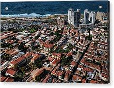 Acrylic Print featuring the photograph the Tel Aviv charm by Ron Shoshani