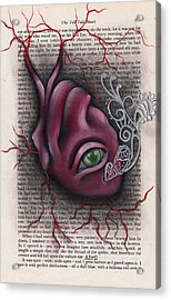 The Tell Tale Heart Acrylic Print by  Abril Andrade Griffith