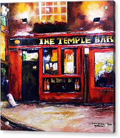 The Temple Bar Acrylic Print