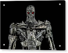 The Terminator  Acrylic Print by Tommytechno Sweden