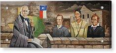 The Texans Acrylic Print by Bob Hallmark