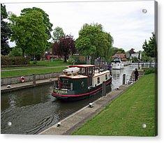 The Thames At Penton Hook Lock Acrylic Print