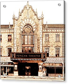 The Theatre Acrylic Print by Ann Powell