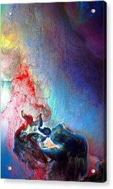 The Thinker Acrylic Print by Petros Yiannakas