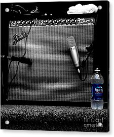 The Thirst Of Sound Acrylic Print by Steven Digman