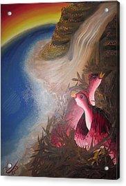 The Thorn Birds Acrylic Print