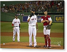 The Three Greats Acrylic Print by Amazing Jules